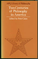Two Centuries of Philosophy in America